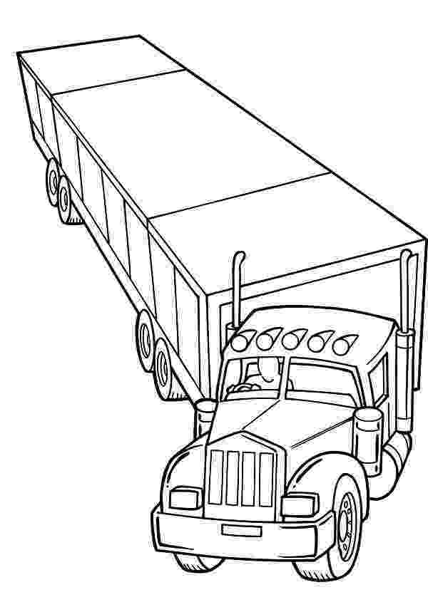 coloring pages of semi trucks semi truck coloring pages to download and print for free coloring trucks pages of semi