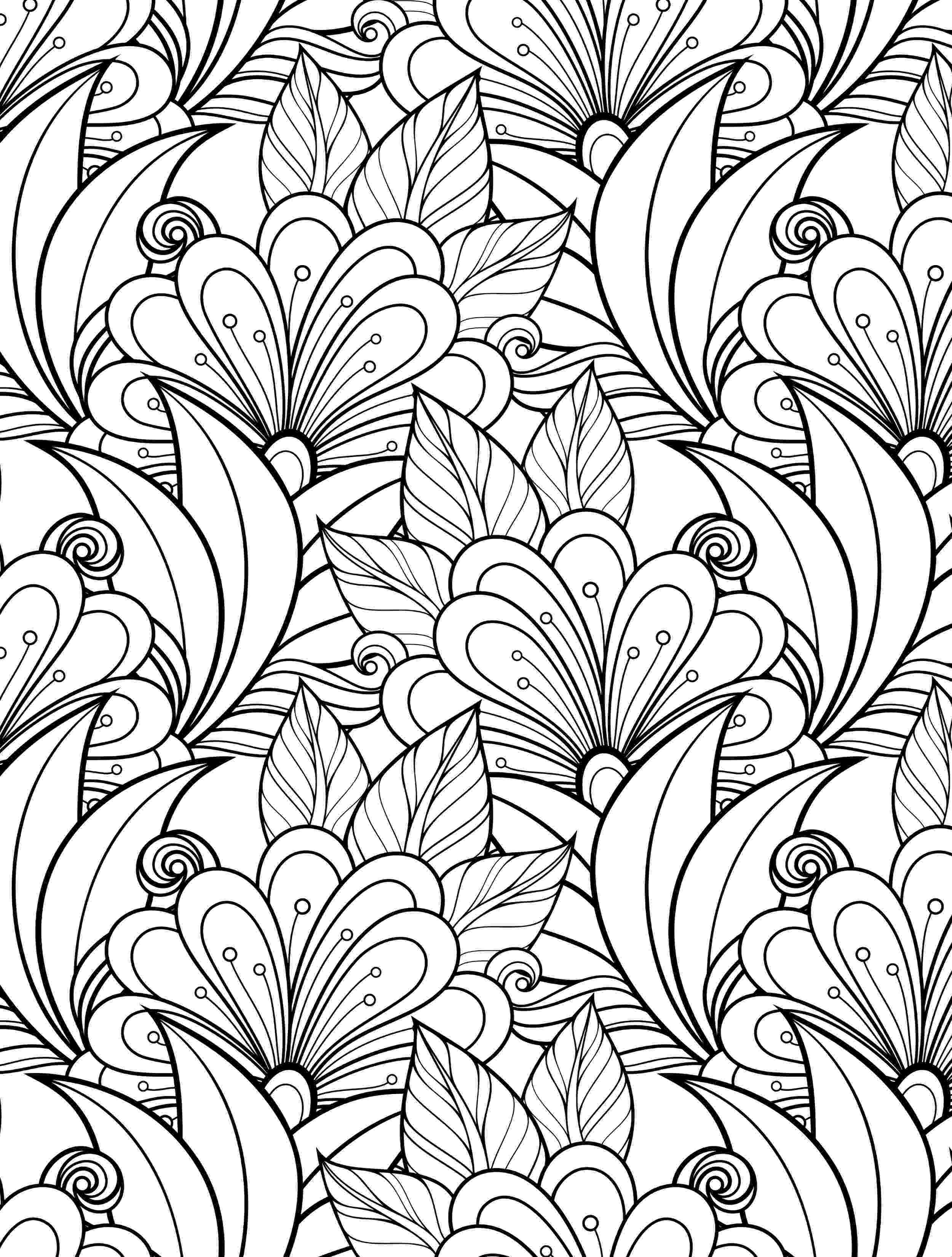 coloring pages online for adults spring flowers adult coloring page favecraftscom adults for pages coloring online
