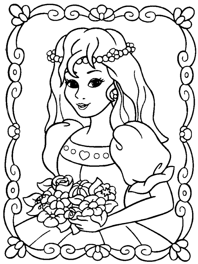 coloring pages online princess disney princess tiana coloring pages to girls princess coloring online pages
