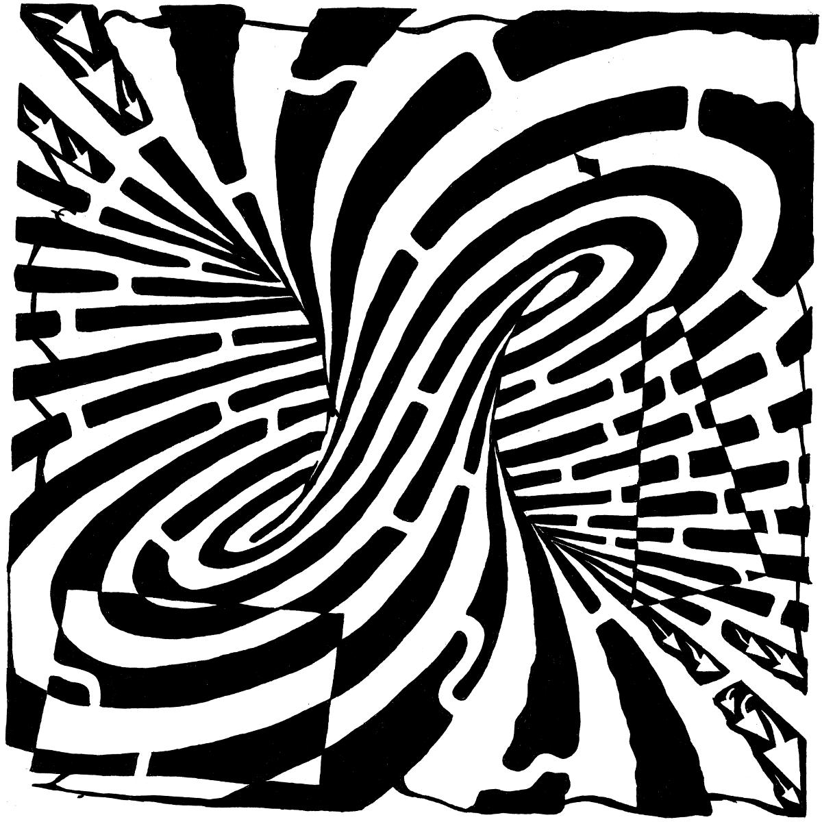 coloring pages optical illusions optical illusion 15 coloring page free printable optical pages illusions coloring