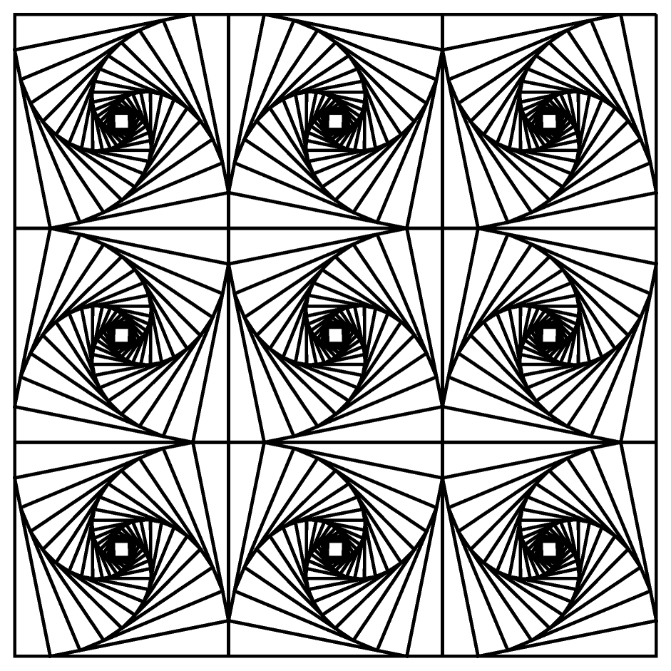 coloring pages optical illusions optical illusion 27 coloring page free printable optical coloring illusions pages