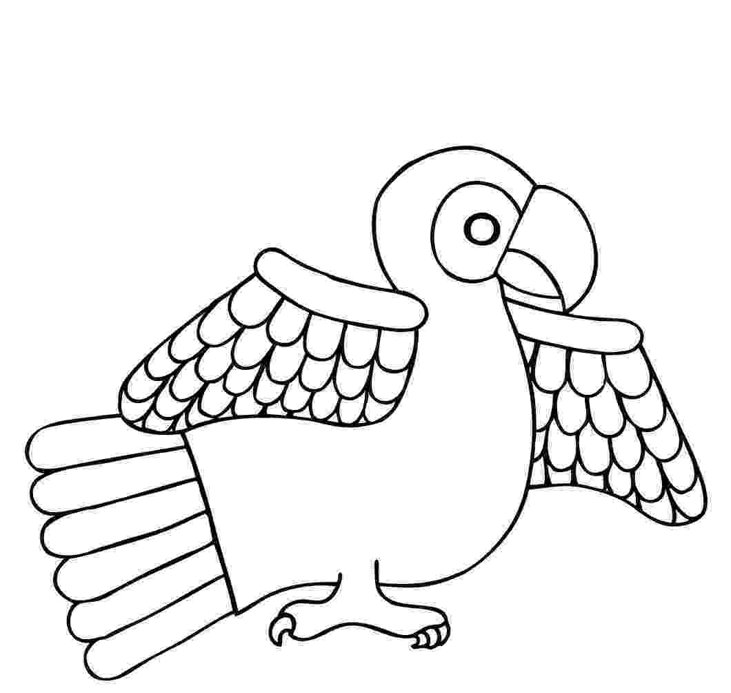 coloring pages parrot parrotprintablecoloringpages back print this parrot coloring pages parrot