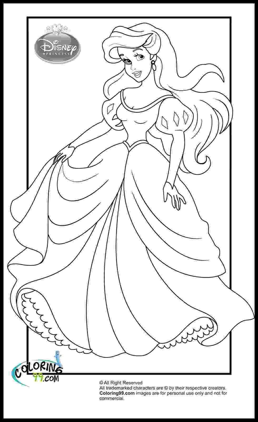 coloring pages princesses disney princess coloring pages minister coloring coloring princesses pages