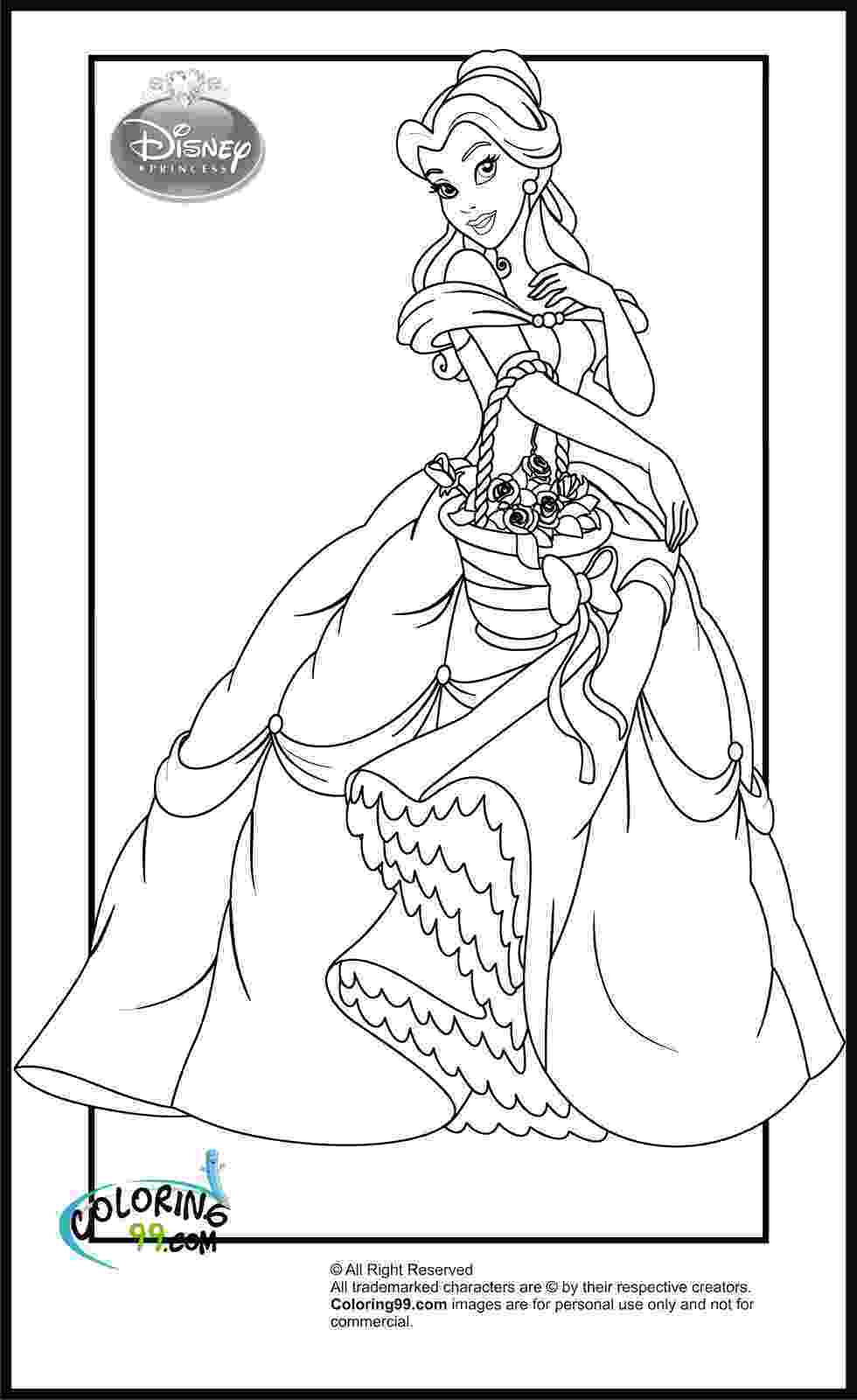 coloring pages princesses disney princess coloring pages minister coloring princesses pages coloring