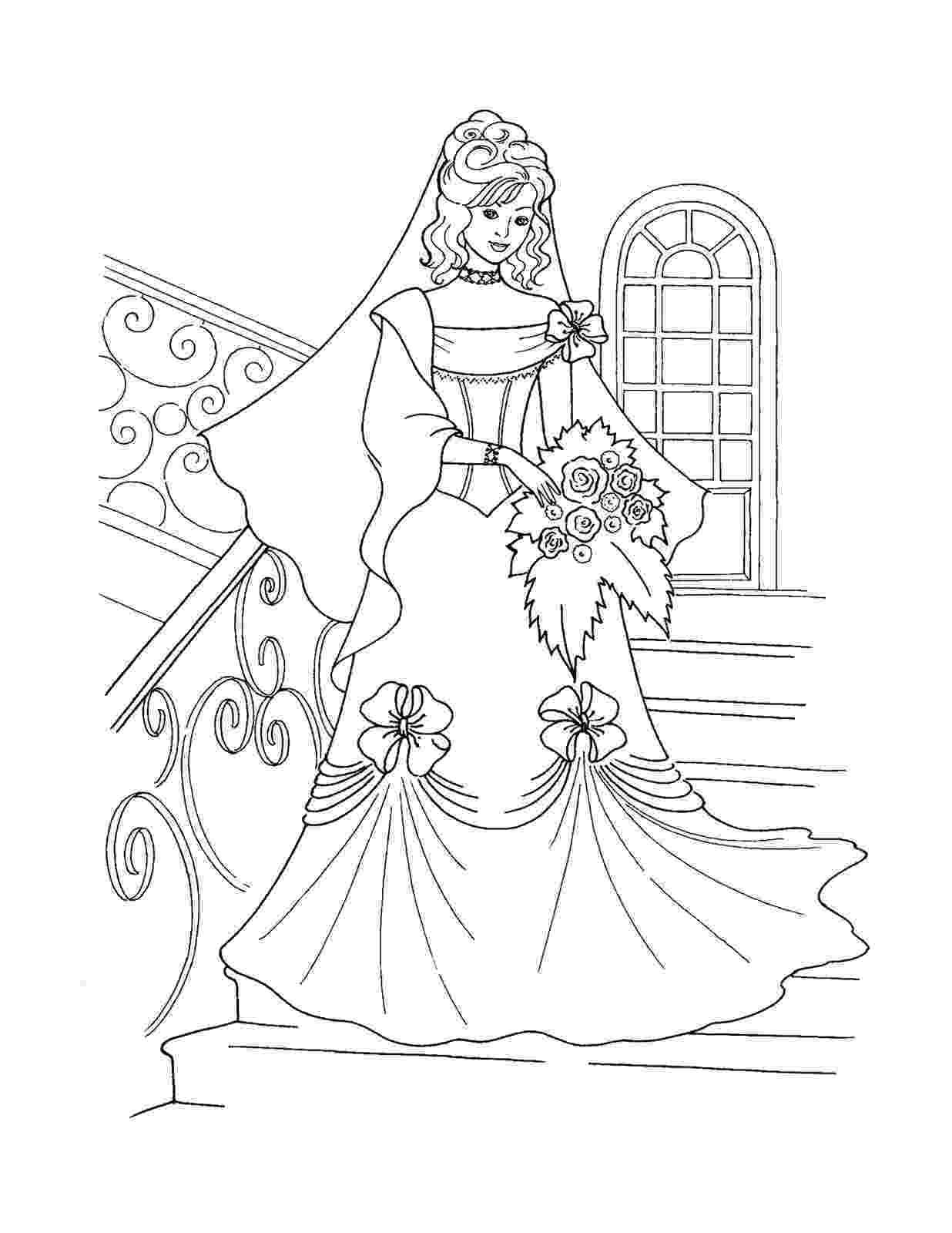 coloring pages princesses printable barbie princess coloring pages for kids cool2bkids coloring princesses pages