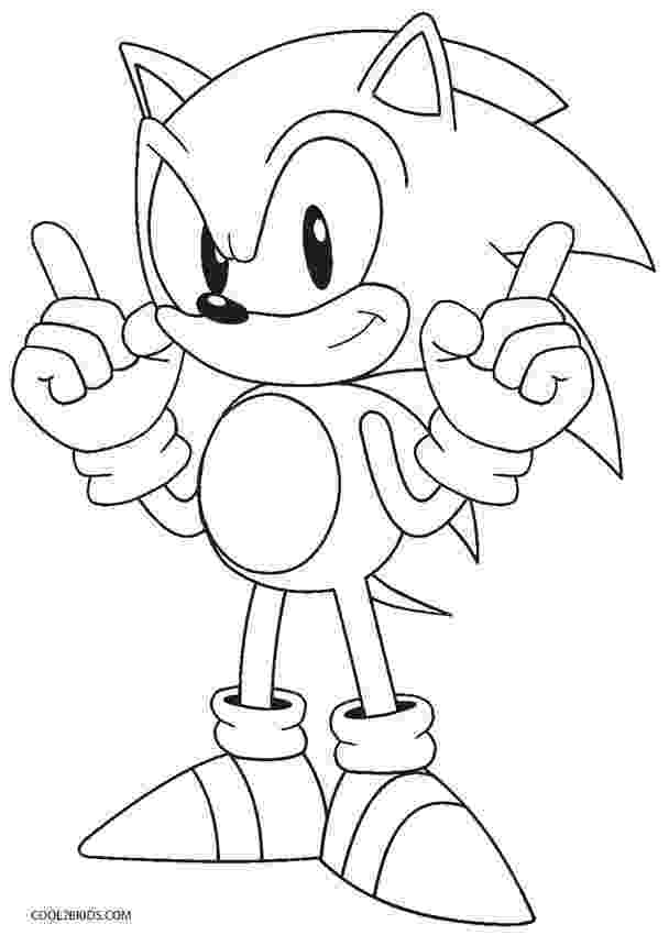 coloring pages sonic characters free printable sonic the hedgehog coloring pages for kids characters coloring pages sonic