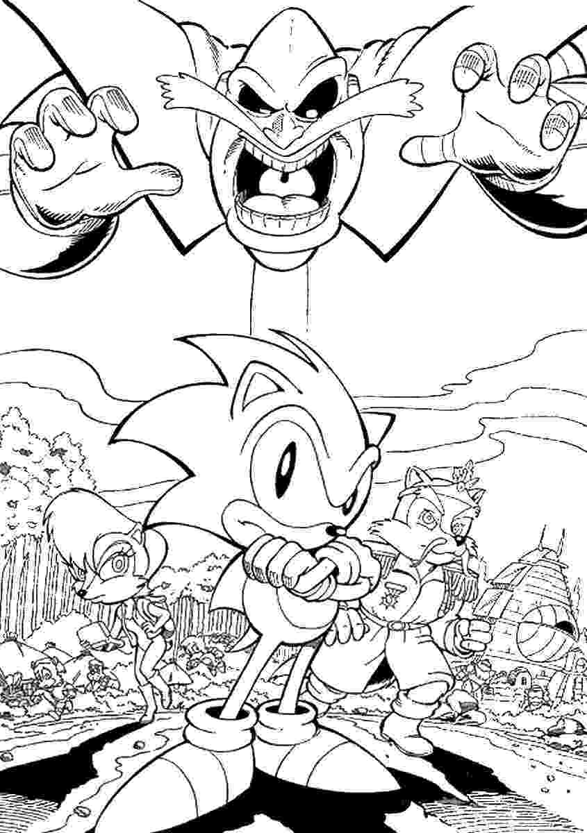 coloring pages sonic characters sonic the hedgehog coloring pages 360coloringpages pages characters sonic coloring 1 1