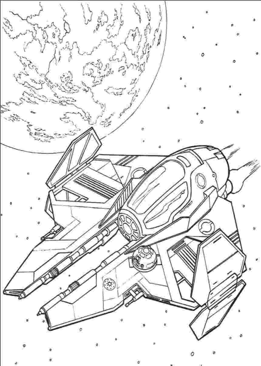 coloring pages star wars ships star wars ships drawing at getdrawings free download wars coloring ships star pages