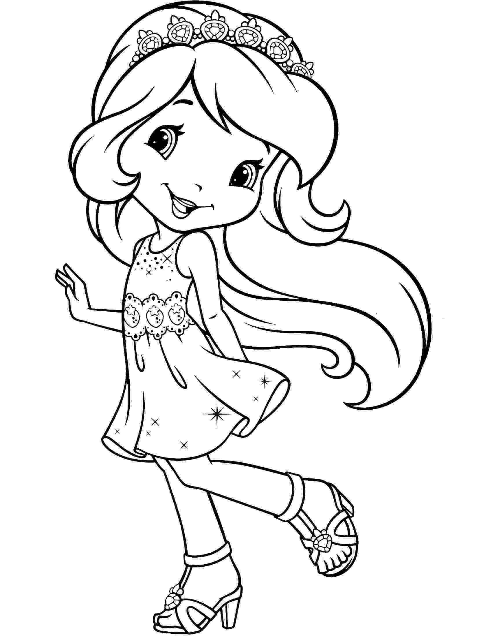 coloring pages strawberry shortcake strawberry shortcake coloring pages coloring shortcake pages strawberry