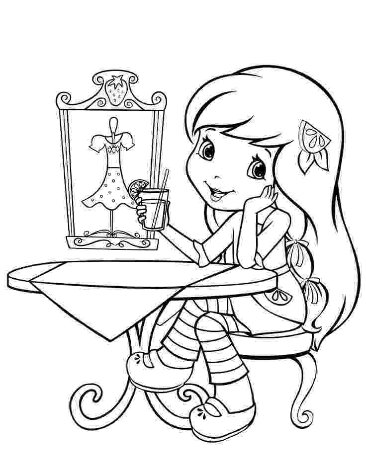 coloring pages strawberry shortcake strawberry shortcake coloring pages team colors pages strawberry coloring shortcake