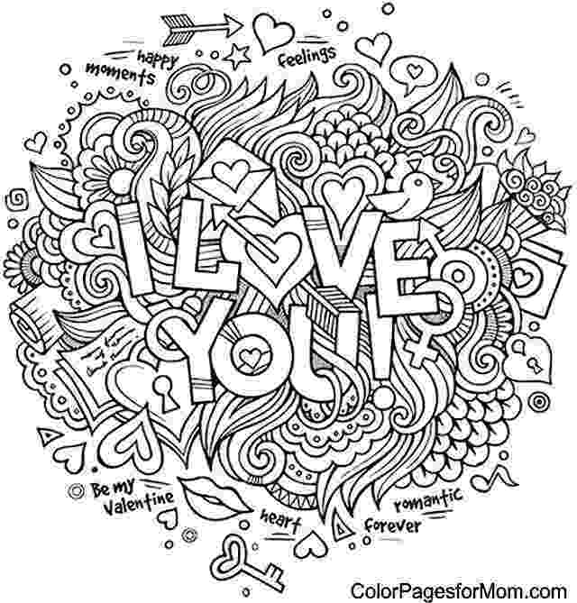 coloring pages that say i love you doodle love you colouring zentangles adult colouring i love that you coloring say pages