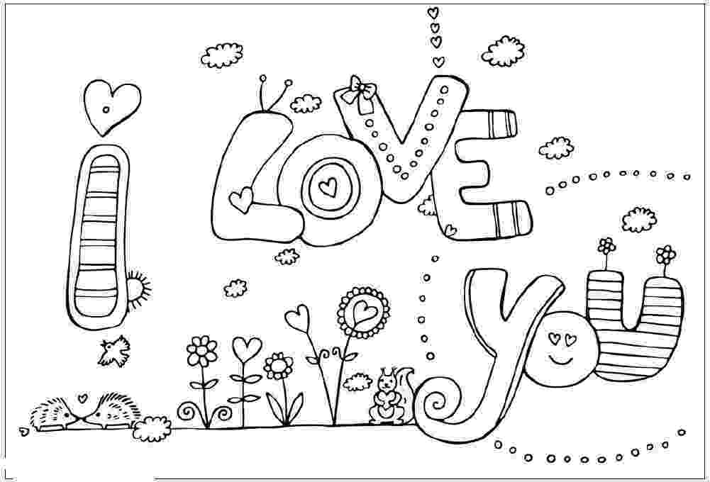 coloring pages that say i love you i love you coloring pages love that pages coloring i you say