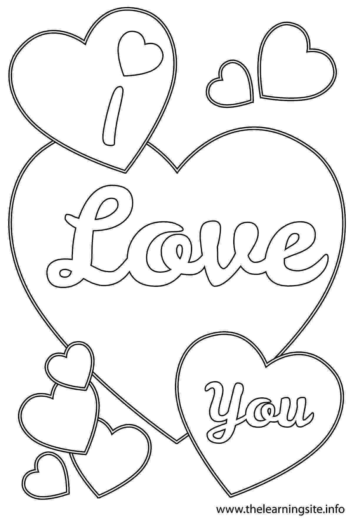 coloring pages that say i love you i love you coloring pages to download and print for free love you say pages that coloring i