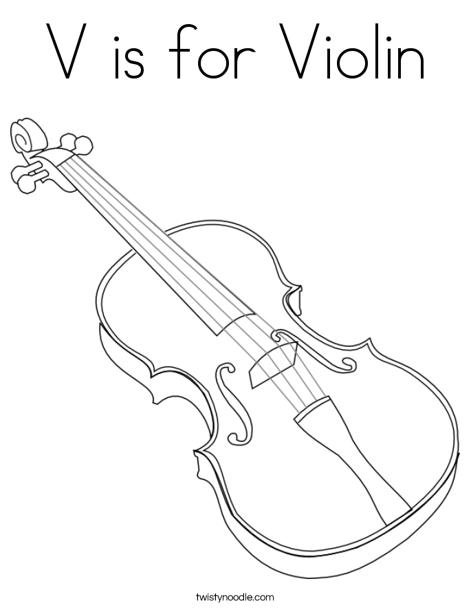 coloring pages violin music instrument coloring page getcoloringpagescom coloring pages violin
