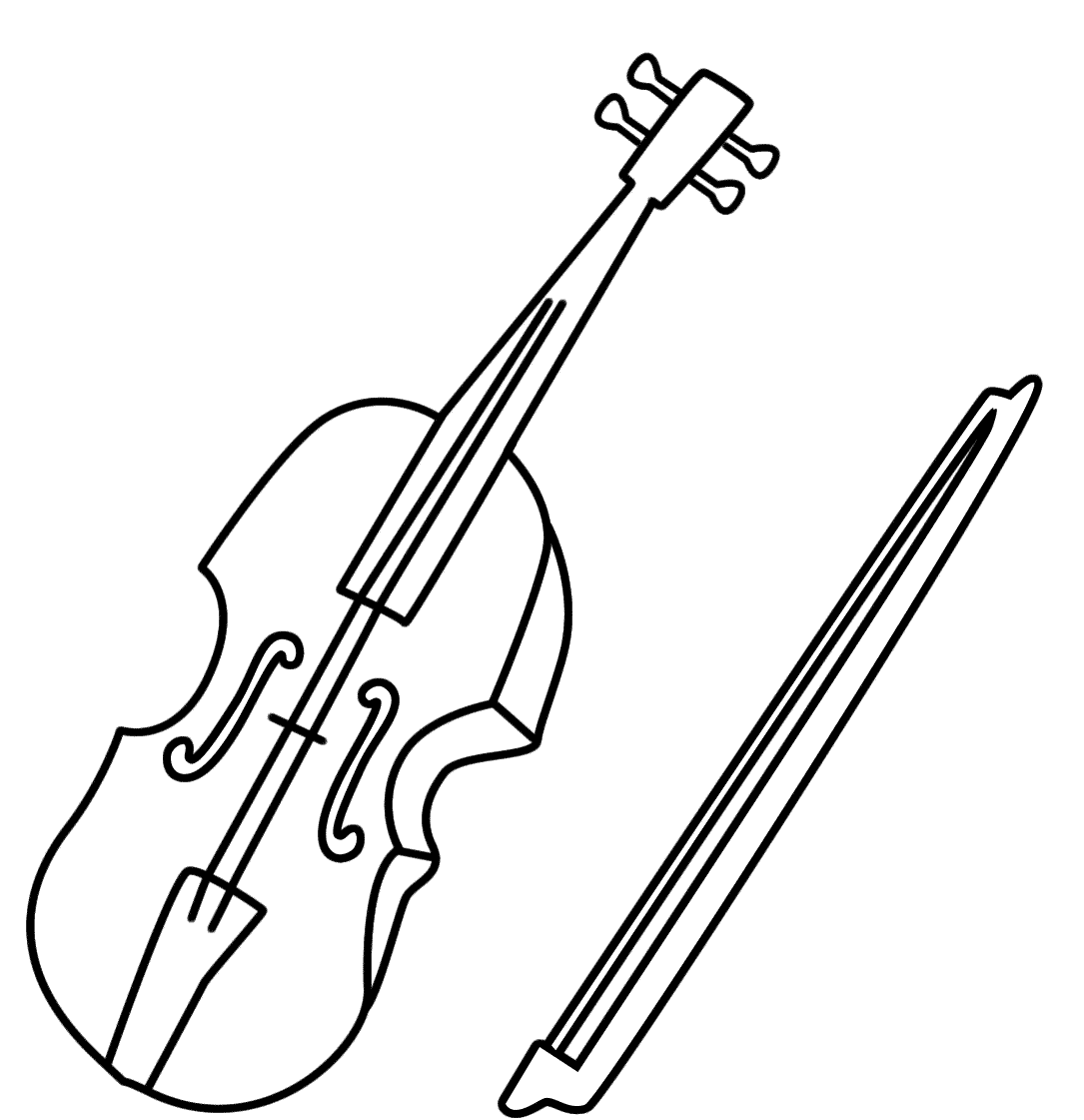 coloring pages violin violin coloring pages learny kids pages violin coloring