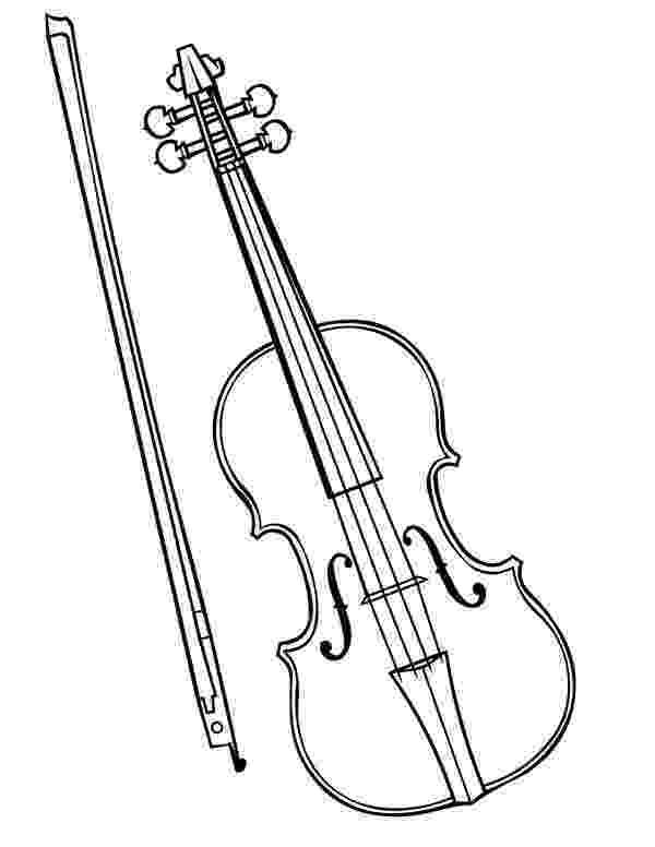 coloring pages violin violin worksheet educationcom coloring violin pages