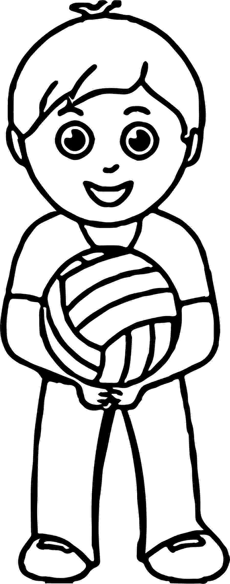 coloring pages volleyball 73 best sports coloring pages images on pinterest volleyball coloring pages