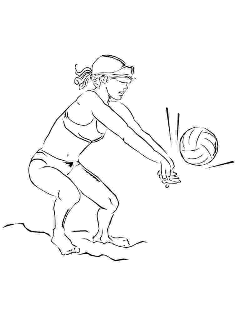 coloring pages volleyball coloring pages volleyball coloring volleyball pages