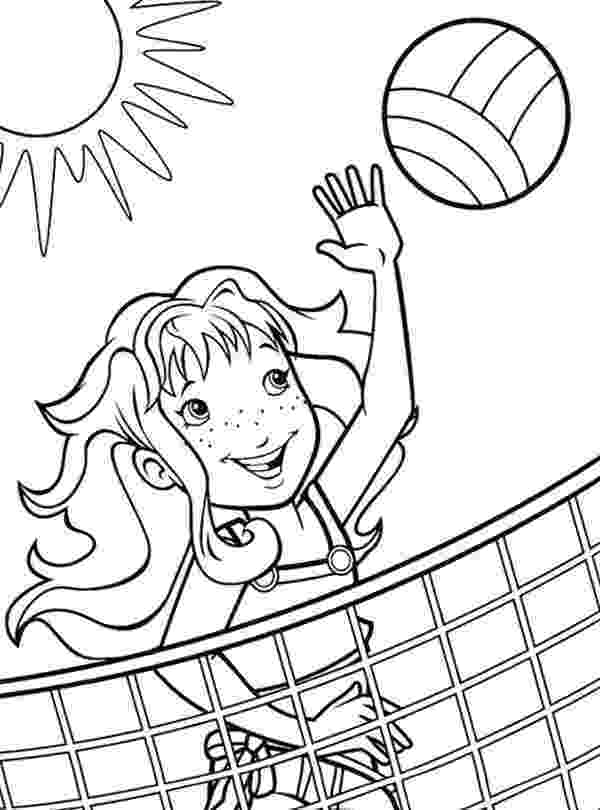 coloring pages volleyball free printable volleyball coloring pages for kids coloring pages volleyball 1 1