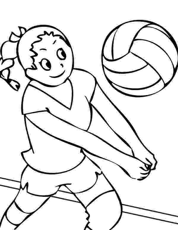 coloring pages volleyball free printable volleyball coloring pages for kids volleyball pages coloring