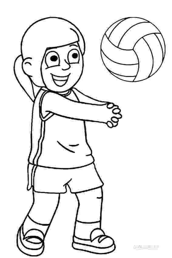 coloring pages volleyball free printable volleyball coloring pages for kids volleyball pages coloring 1 1