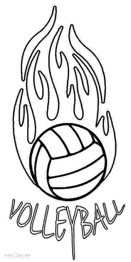 coloring pages volleyball printable volleyball coloring pages for kids cool2bkids coloring volleyball pages
