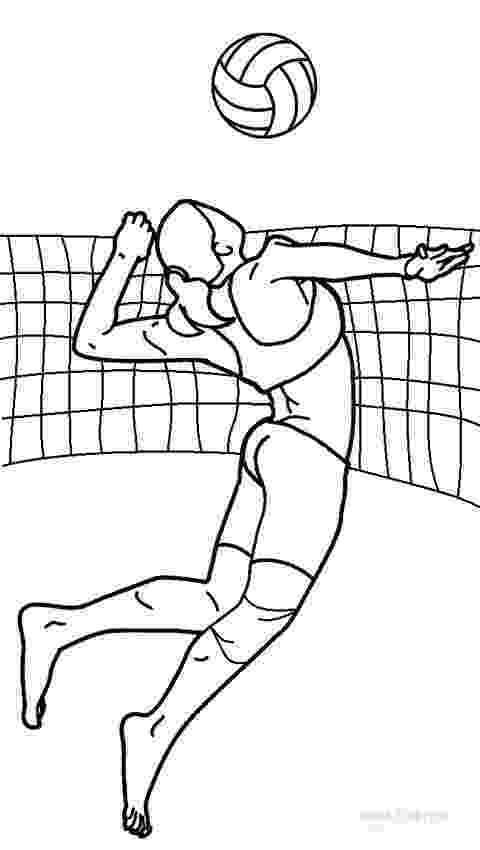 coloring pages volleyball printable volleyball coloring pages for kids cool2bkids coloring volleyball pages 1 1