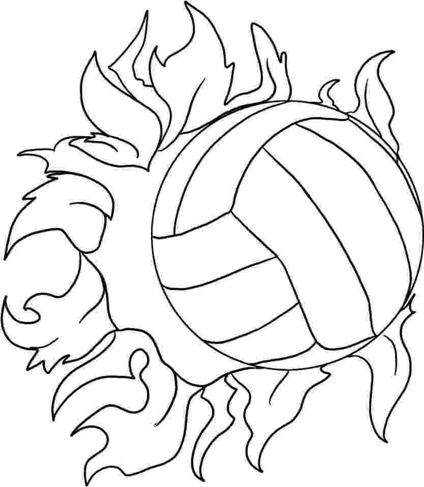 coloring pages volleyball volleyball coloring page sports pages volleyball coloring