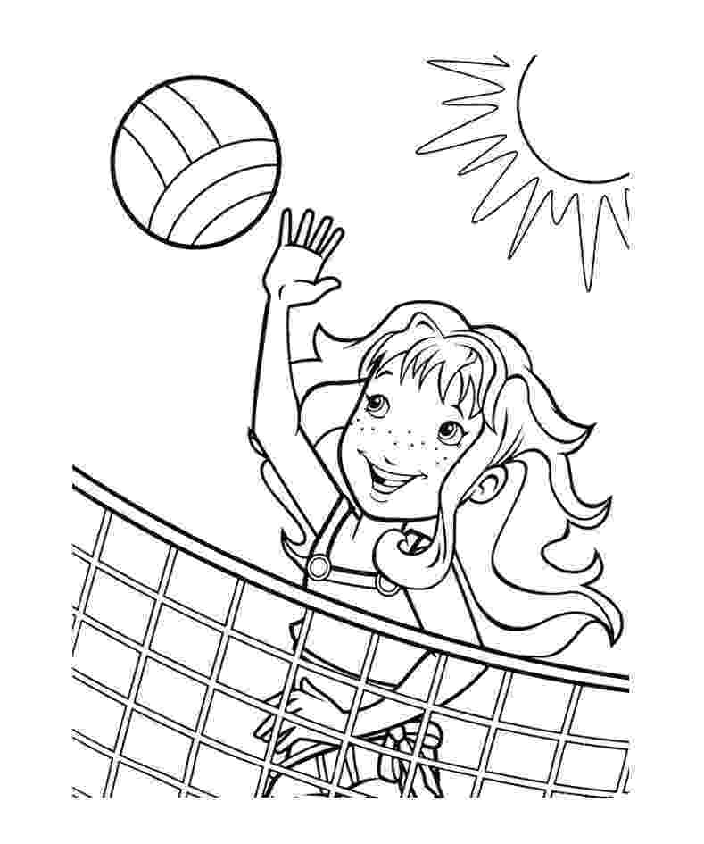 coloring pages volleyball volleyball coloring pages to download and print for free coloring volleyball pages