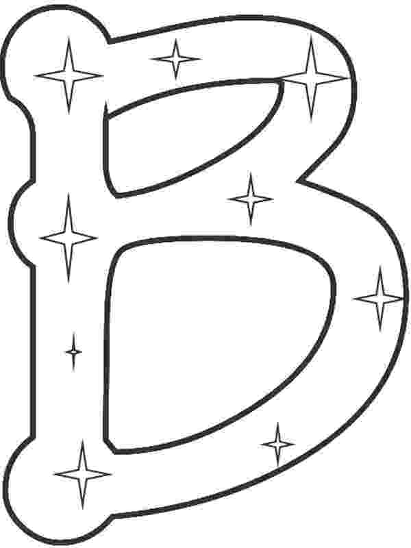 coloring pages with the letter b letter b coloring pages preschool and kindergarten the b pages letter coloring with