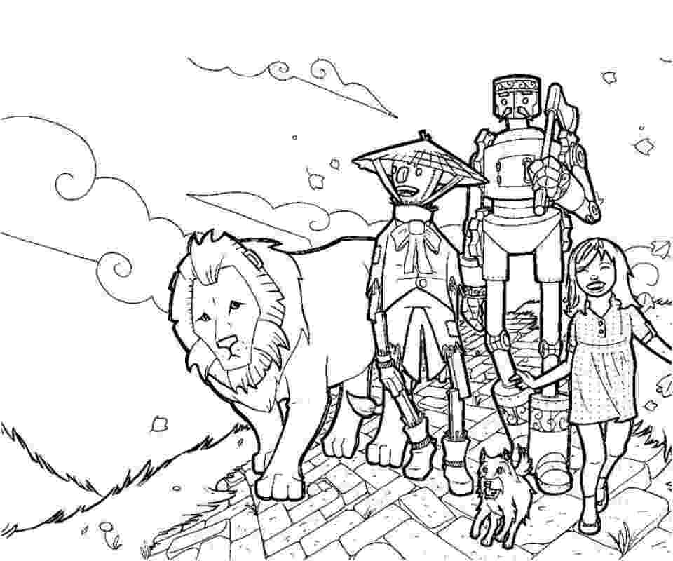 coloring pages wizard of oz kids n funcom coloring page wizard of oz wizard of oz of oz pages coloring wizard