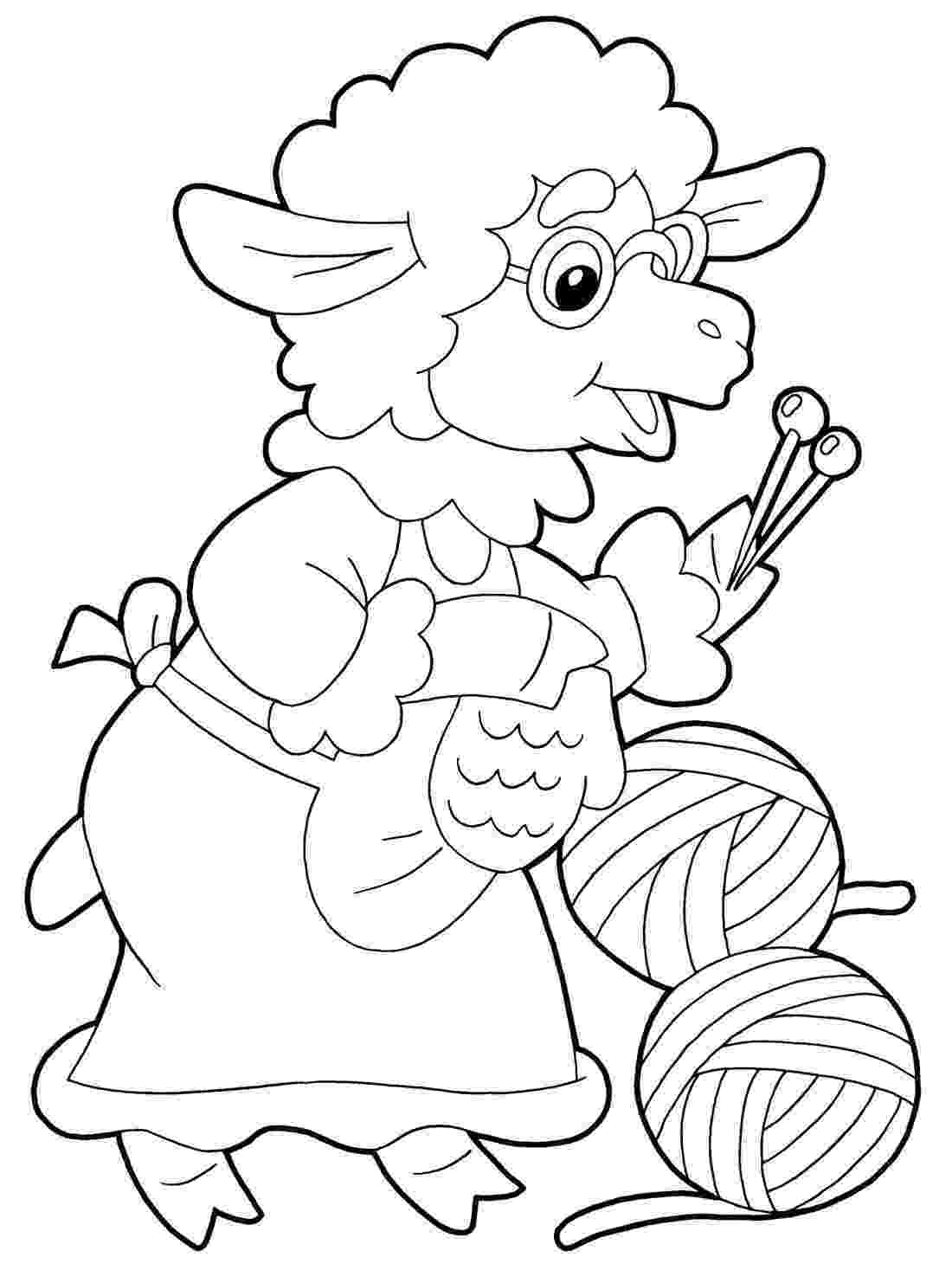 coloring paghes sheep coloring pages to print year of sheep 2015 paghes coloring