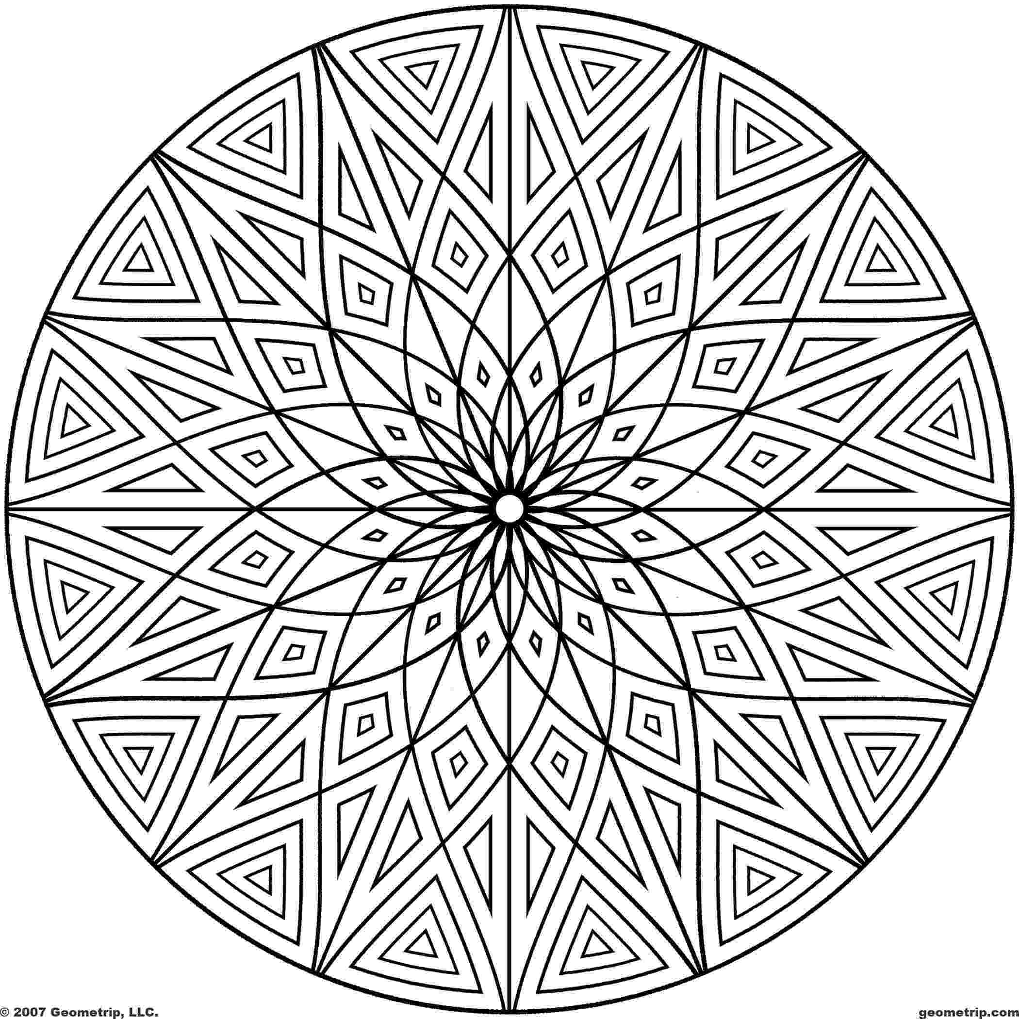 coloring patterns 25 coloring pages including mandalas geometric designs rug coloring patterns