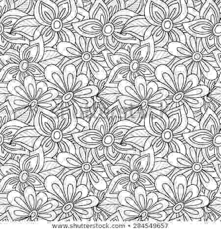 coloring patterns flowers free printable flower coloring pages for kids best patterns flowers coloring