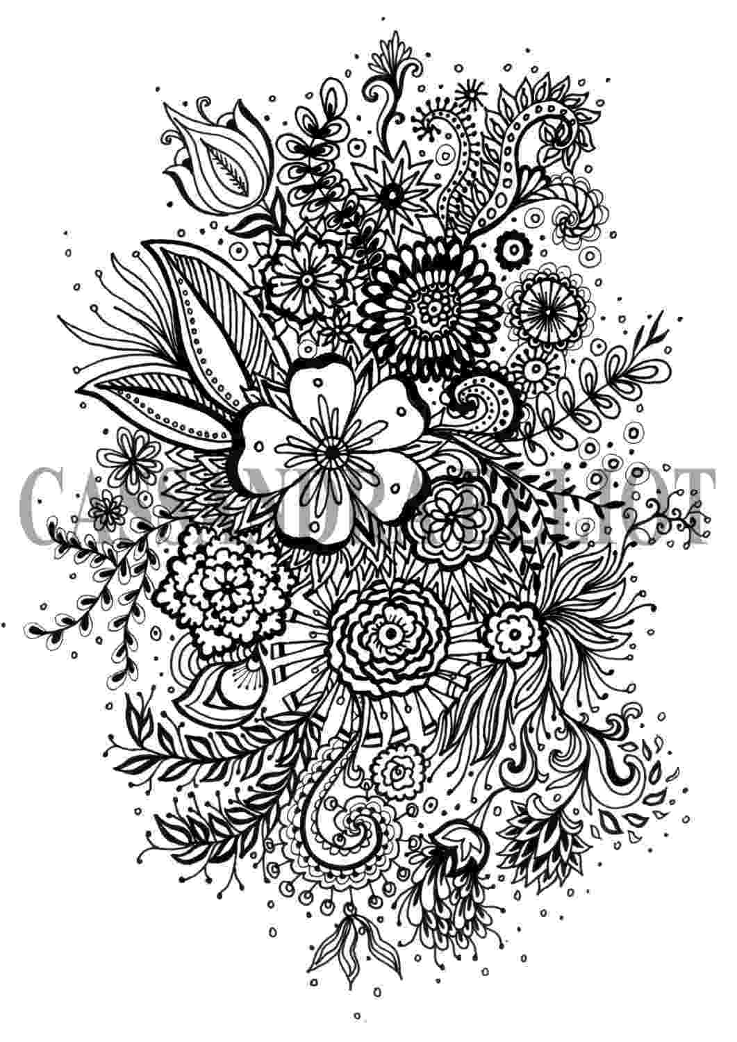 coloring patterns flowers hearts and flowers pattern coloring page free printable coloring patterns flowers