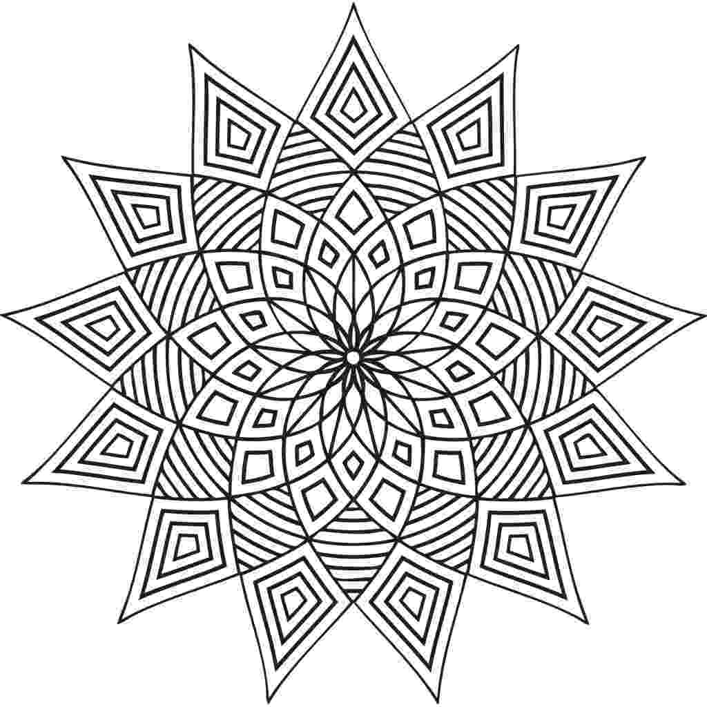 coloring patterns pages assembly of triangles and rectangle zen and anti stress pages coloring patterns