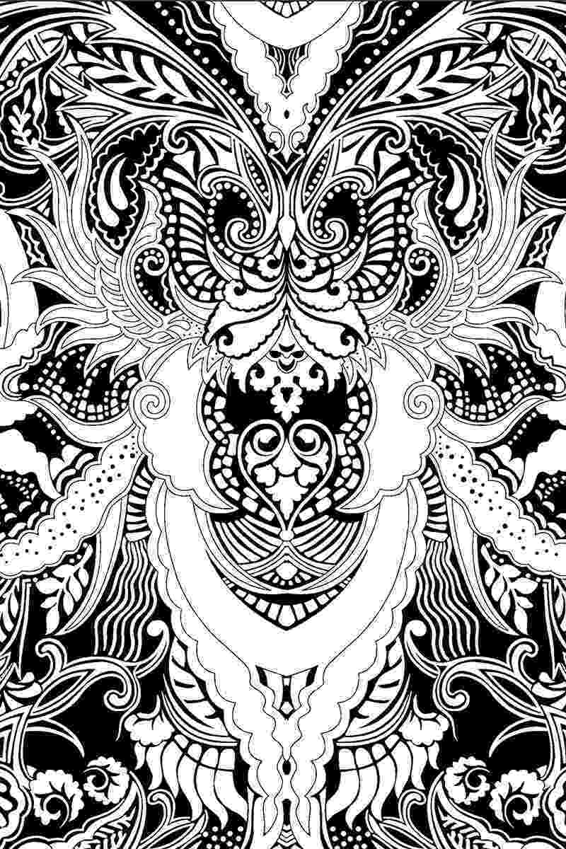 coloring patterns pages coloring page world paisley flower pattern portrait coloring pages patterns