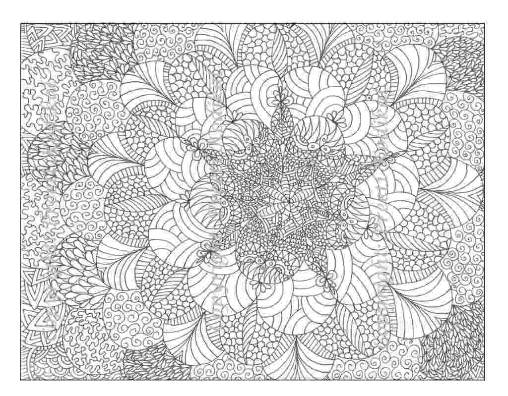 coloring patterns pages large print adult coloring book 4 big beautiful patterns pages coloring