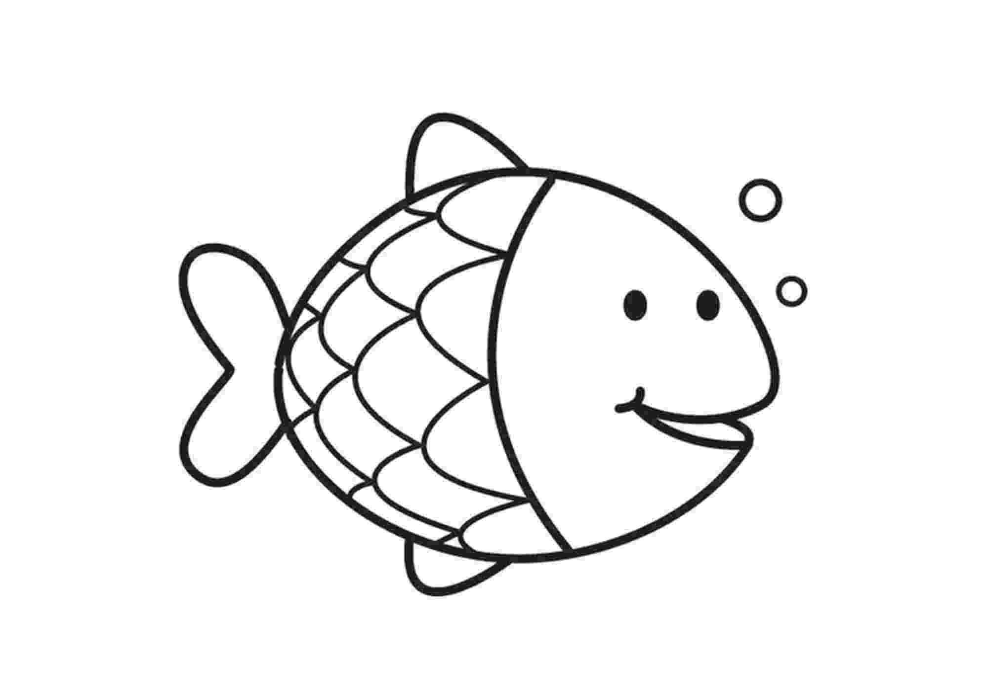 coloring picture fish fish coloring pages for kids preschool and kindergarten fish picture coloring