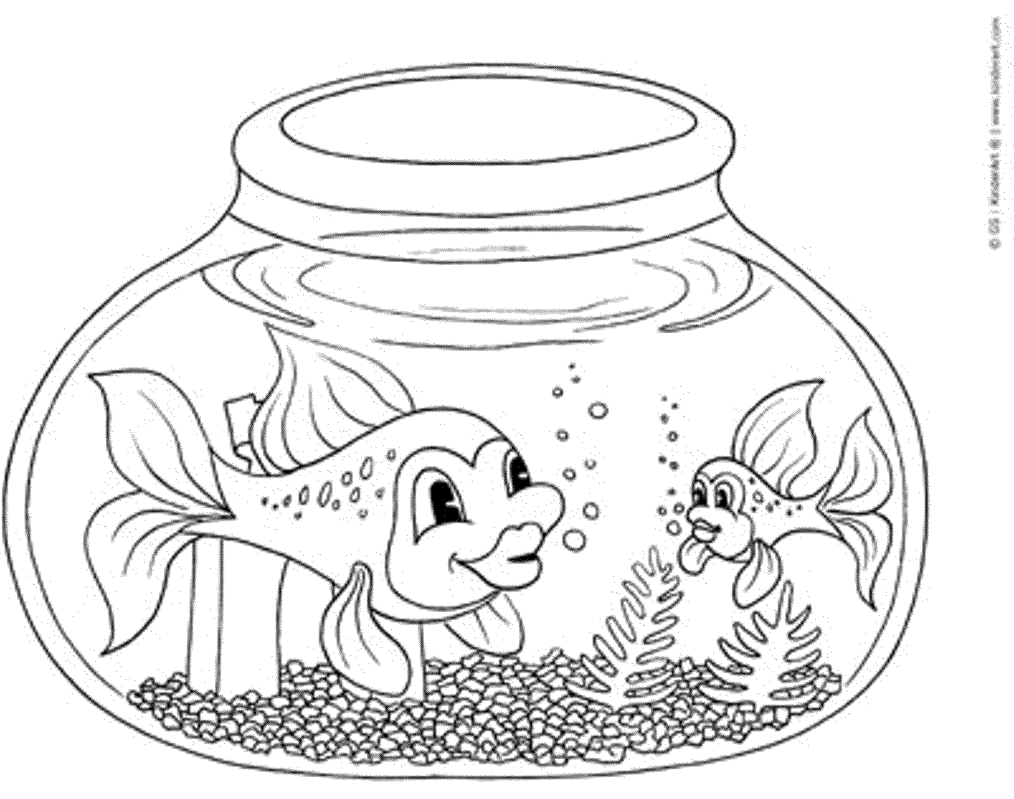 coloring picture fish free printable fish coloring pages for kids cool2bkids picture fish coloring