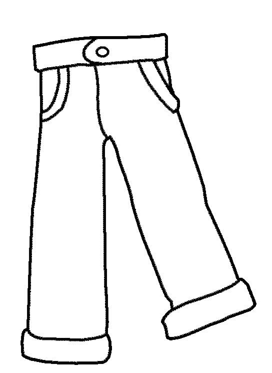 coloring picture of pants homey ideas pants coloring pages page free images for kids picture coloring pants of