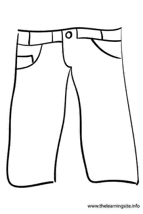 coloring picture of pants pant drawing at getdrawingscom free for personal use coloring picture of pants