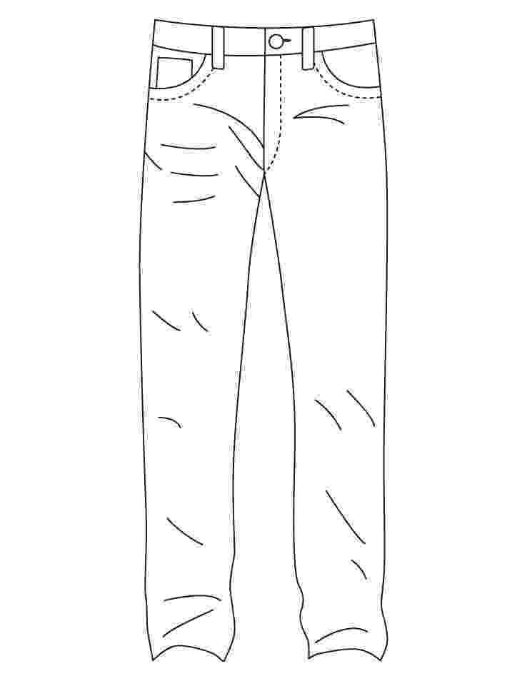 coloring picture of pants pants coloring sheet kerra pants picture coloring of