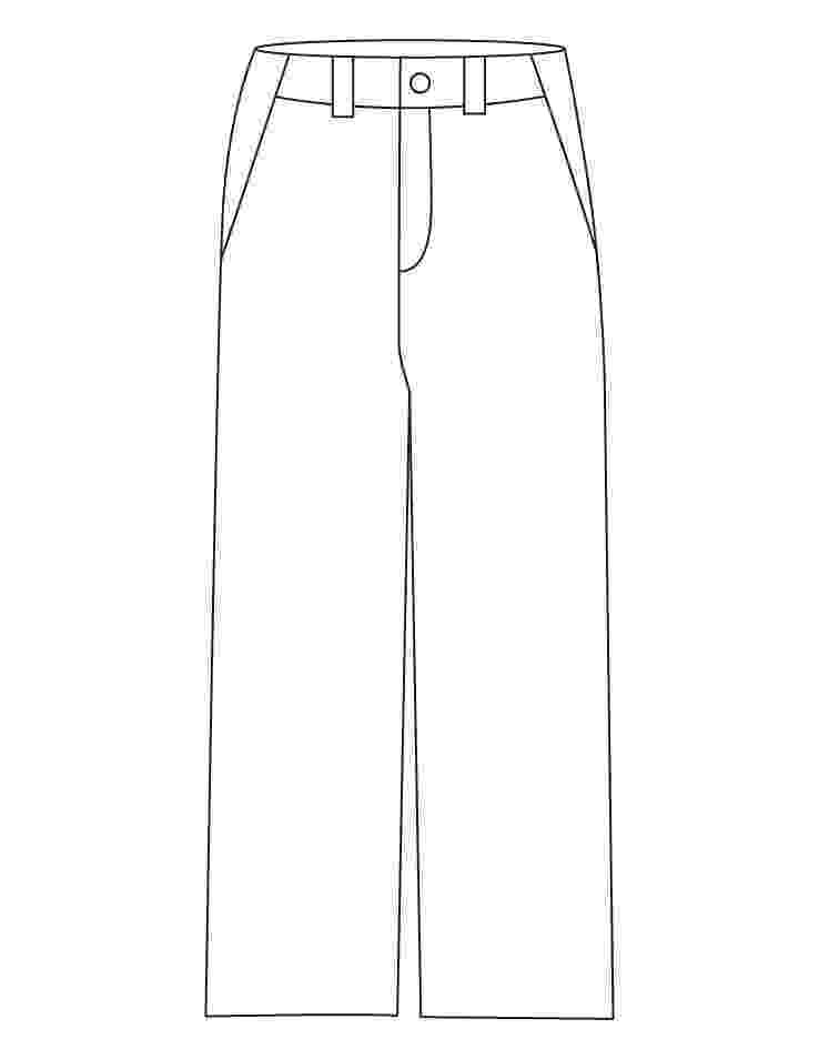 coloring picture of pants print pants woman for coloring of picture coloring pants