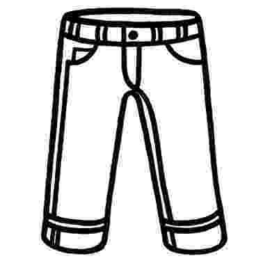 coloring picture of pants shorts flashcard the learning site pants coloring of picture