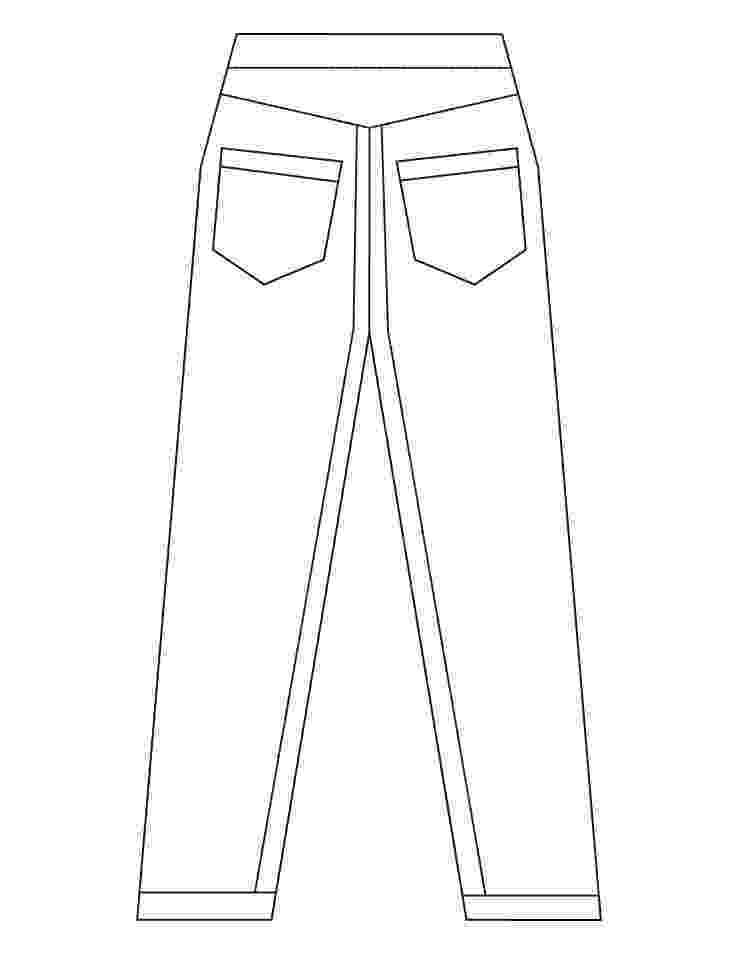 coloring picture of pants trousers coloring page supercoloringcom picture pants of coloring