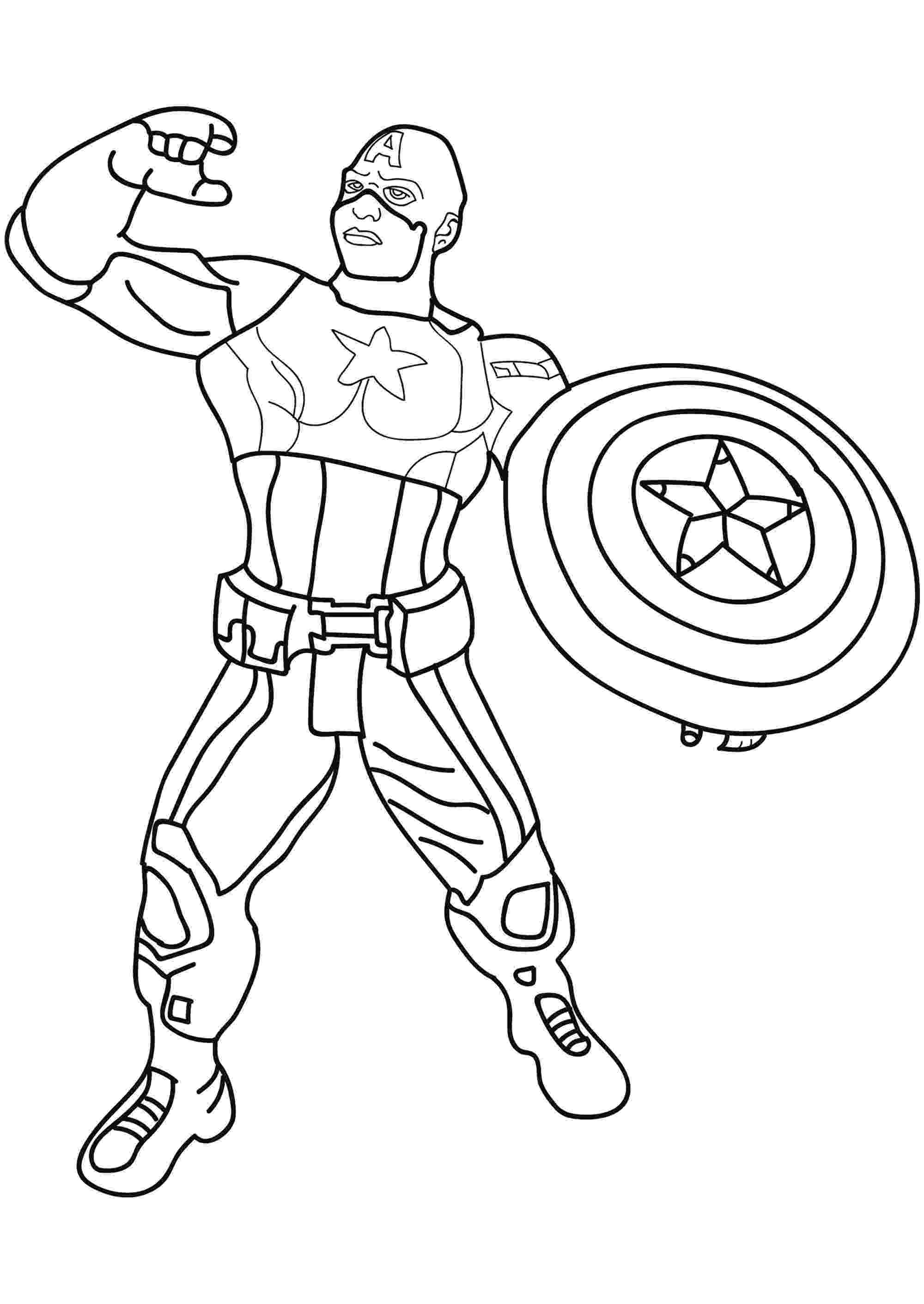 coloring pictures of captain america captain america captain america kids coloring pages captain coloring pictures america of