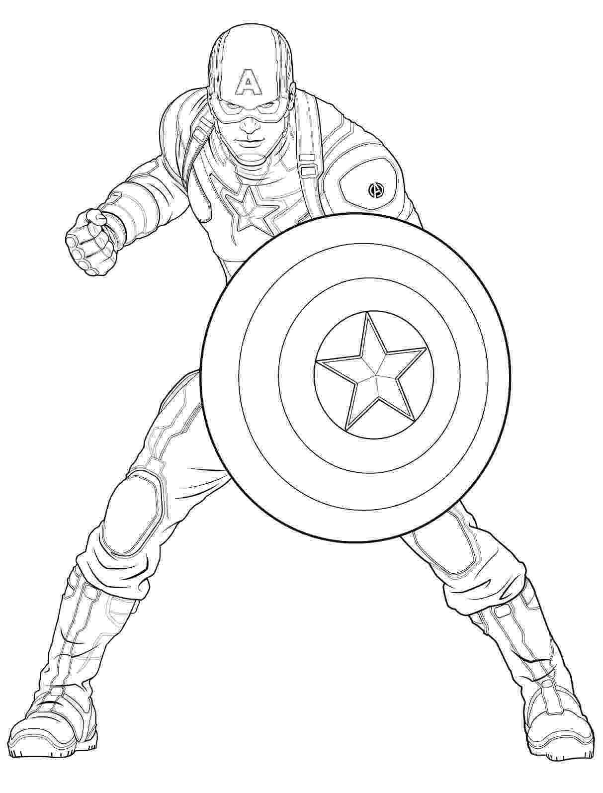 coloring pictures of captain america captain america captain america kids coloring pages of america coloring captain pictures