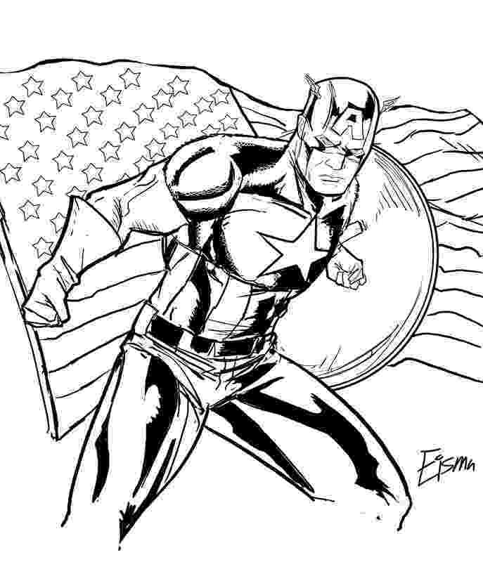coloring pictures of captain america captain america coloring page coloring home of pictures captain coloring america