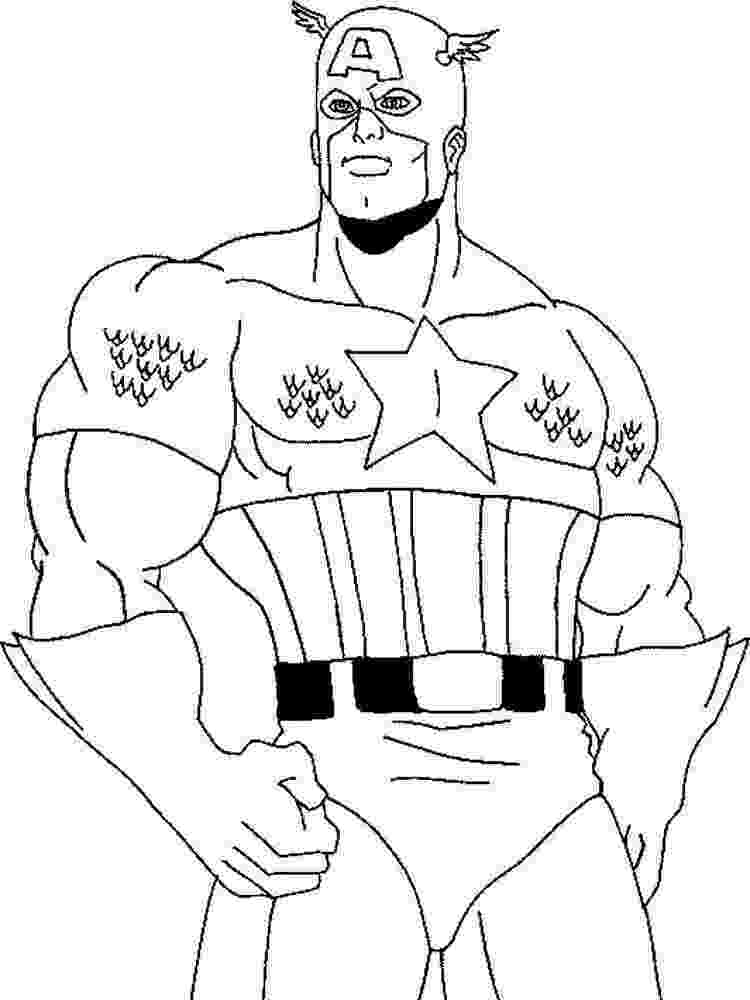 coloring pictures of captain america captain america coloring pages to download and print for free coloring pictures of america captain